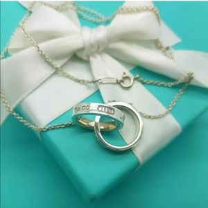 Tiffany and co 1837 interlocking necklace
